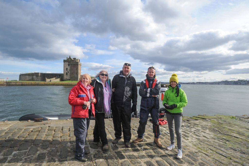 The latest crew of tourists who enjoyed their trip. L-R: Jean Grant, Joanne Grant, Gregor McGillivray, Ian Ashton and Gayle Ritchie.