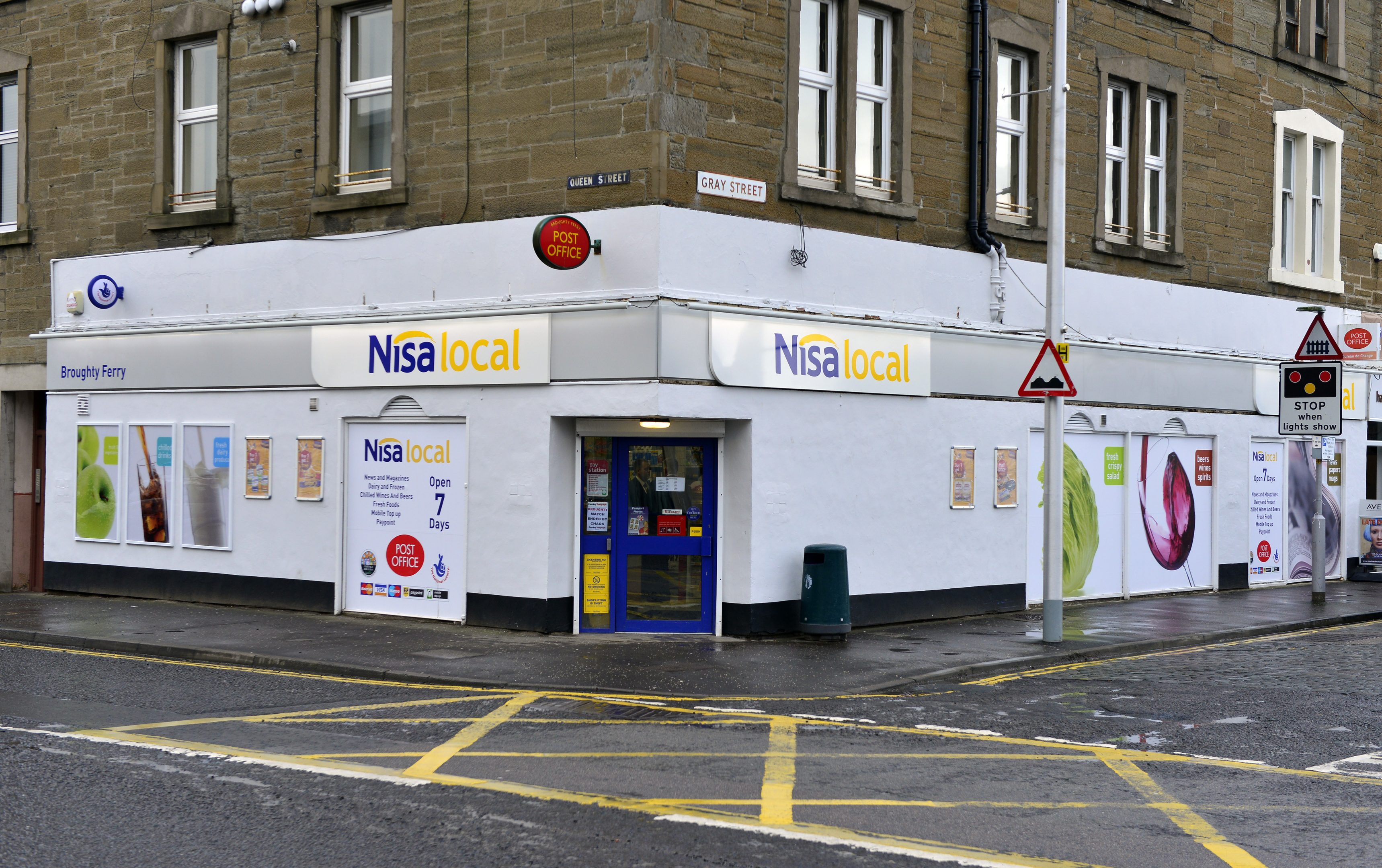 The Ferry's Post Office is being run temporarily from its former home in the Nisa store.