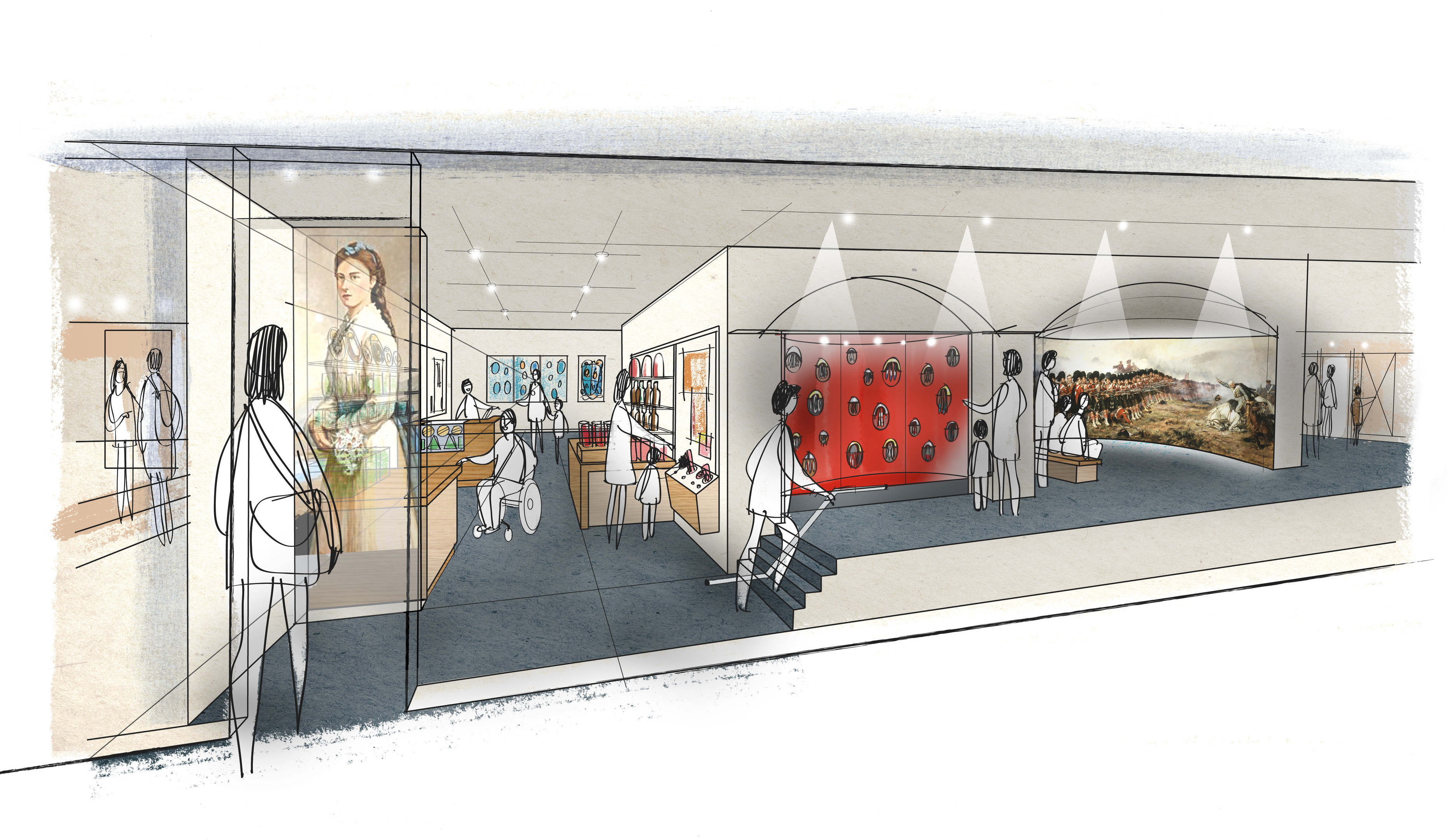 PLB's modern vision for the museum.
