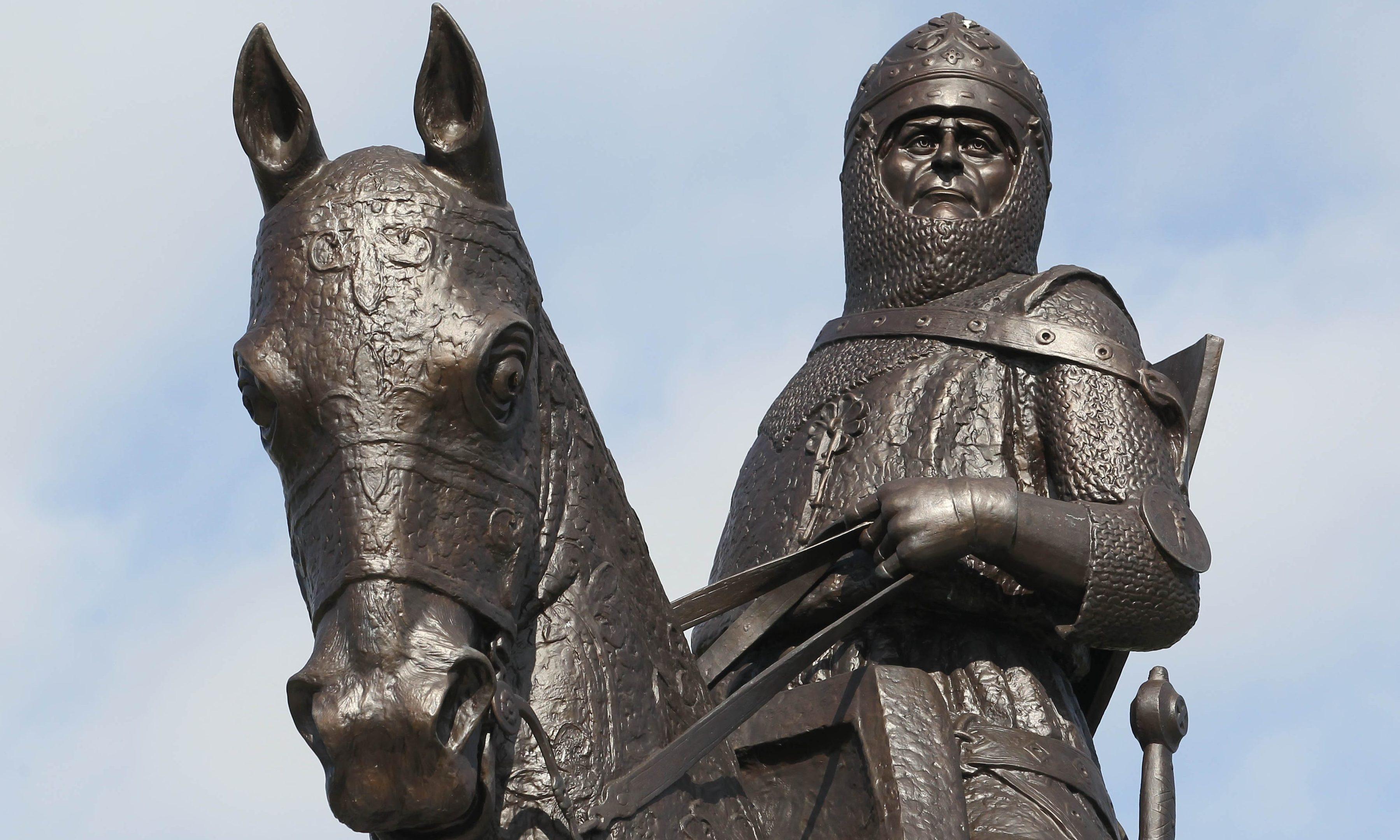 Memorial of Robert the Bruce at Bannockburn.