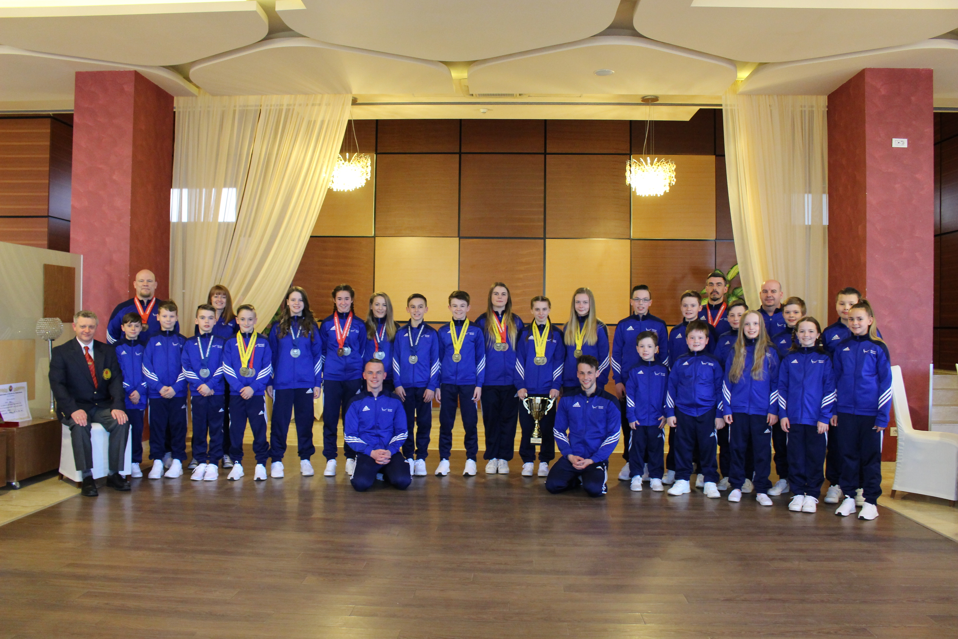 Kanzen Karate claimed a haul of medals at the event in Romania.