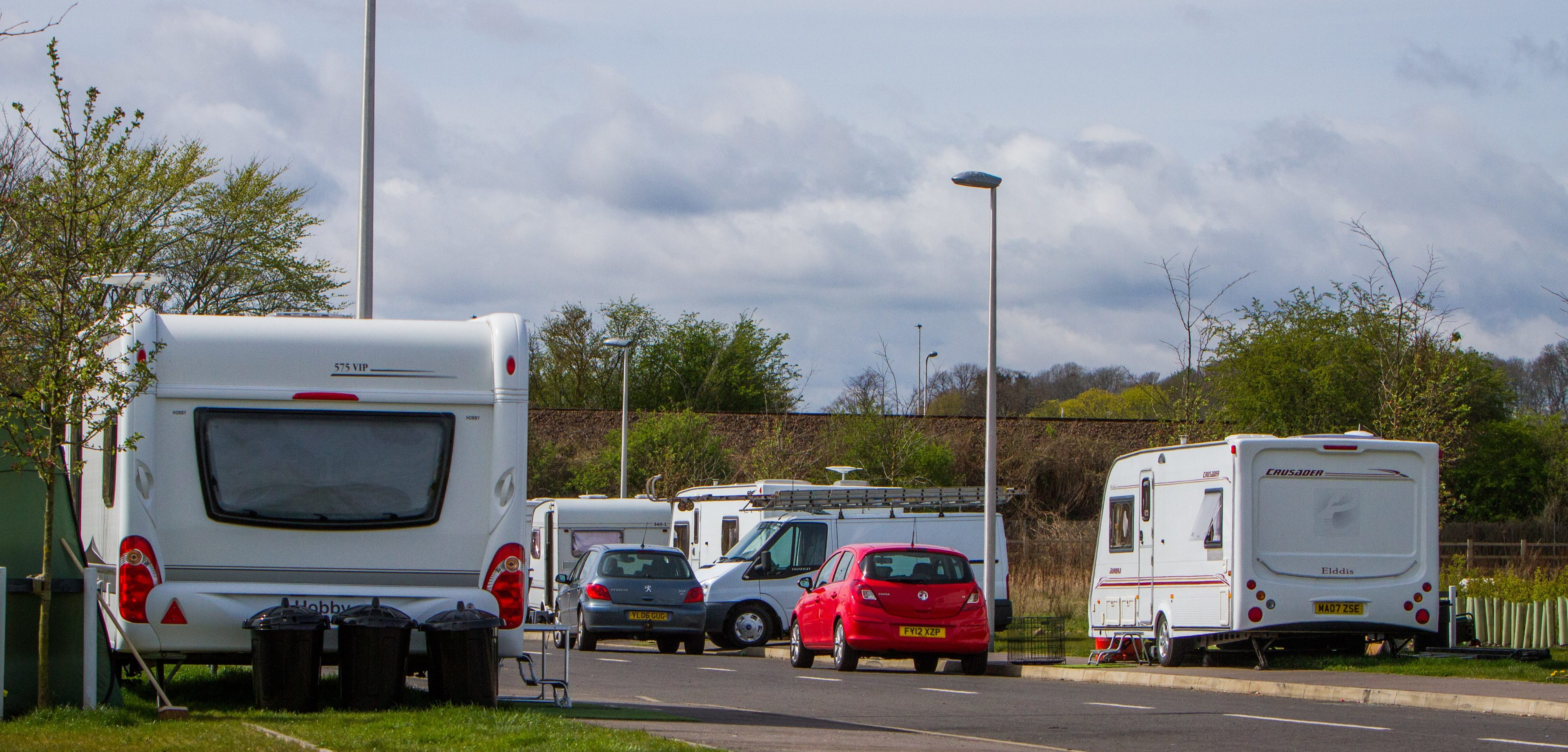 The traveller site at the new Perth Food and Drink Park.