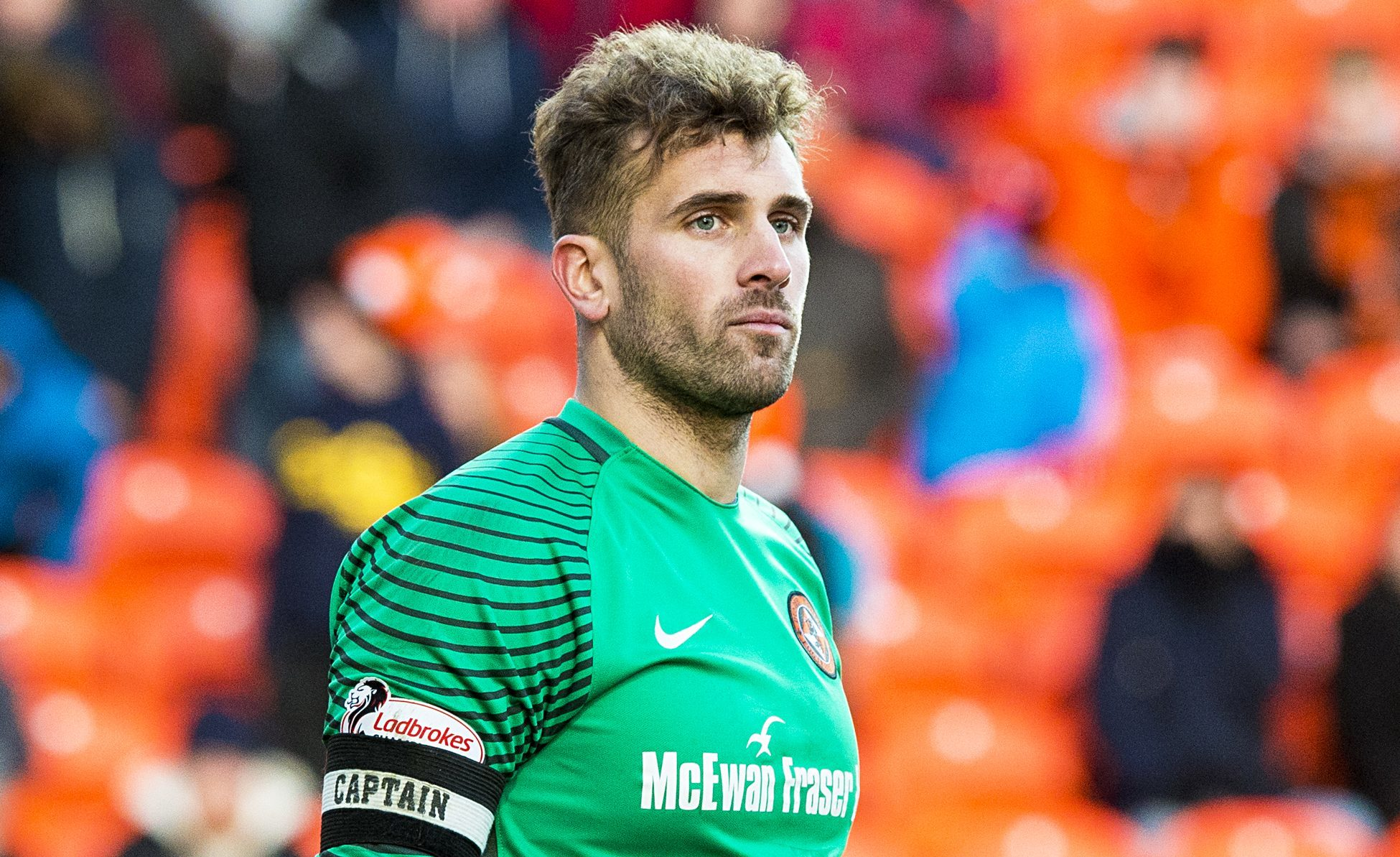 Cammy Bell in his Dundee United days.