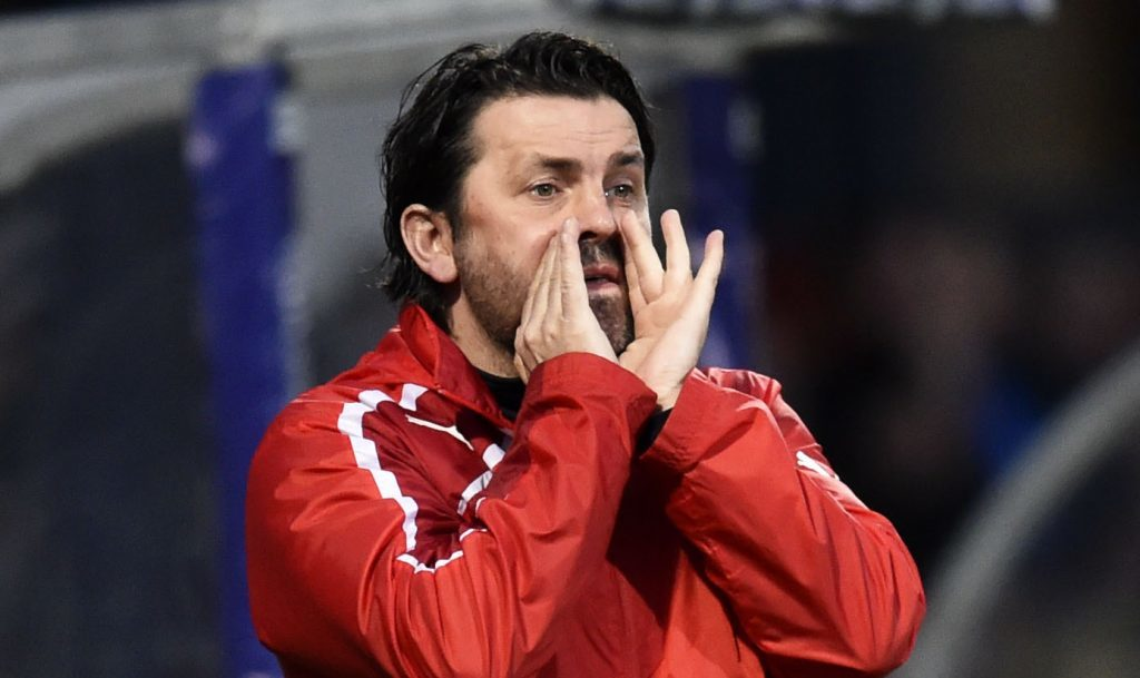 Paul Hartley wanted to make his players fitter at Dundee