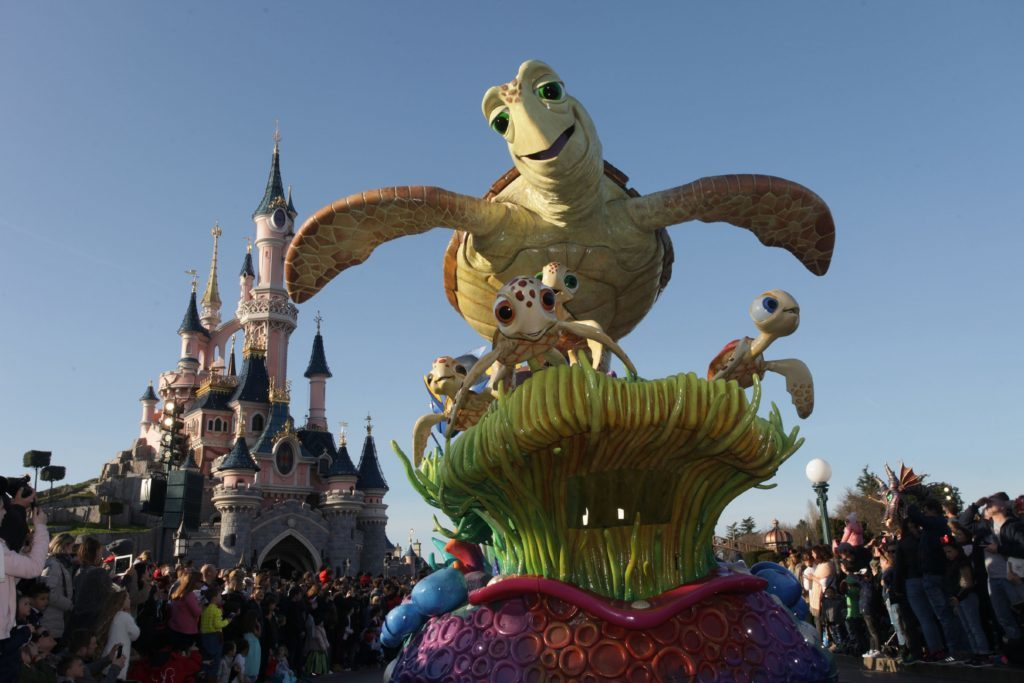 Disney Stars on parade.