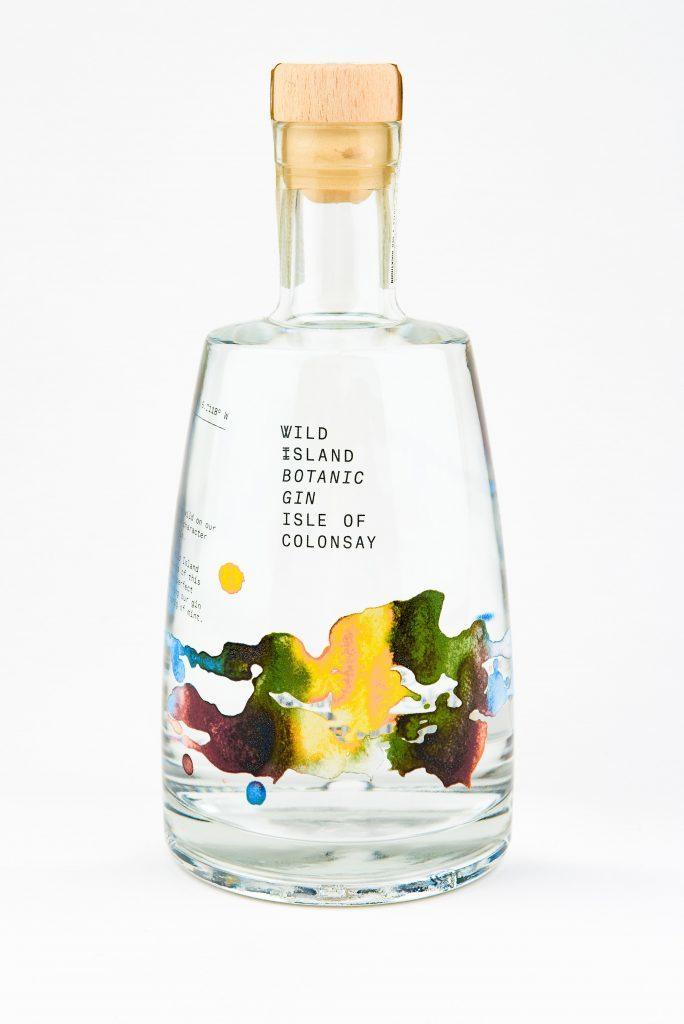 Wild Island Botanic Gin bottle