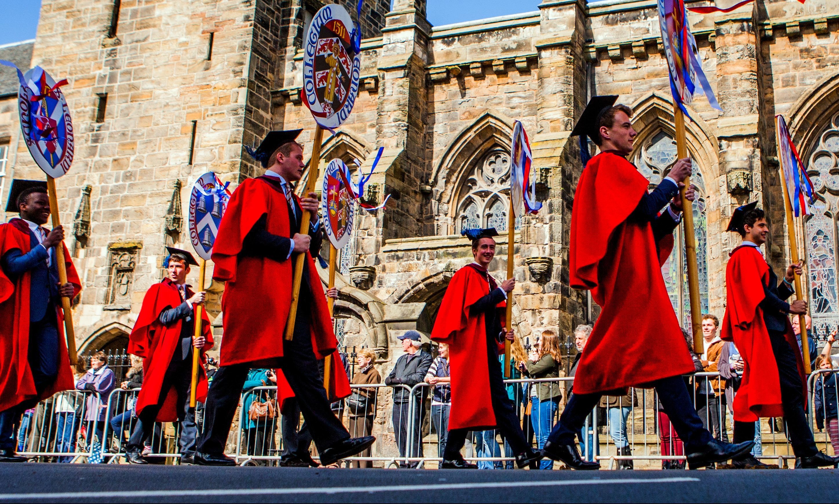 A scene from a previous Kate Kennedy procession