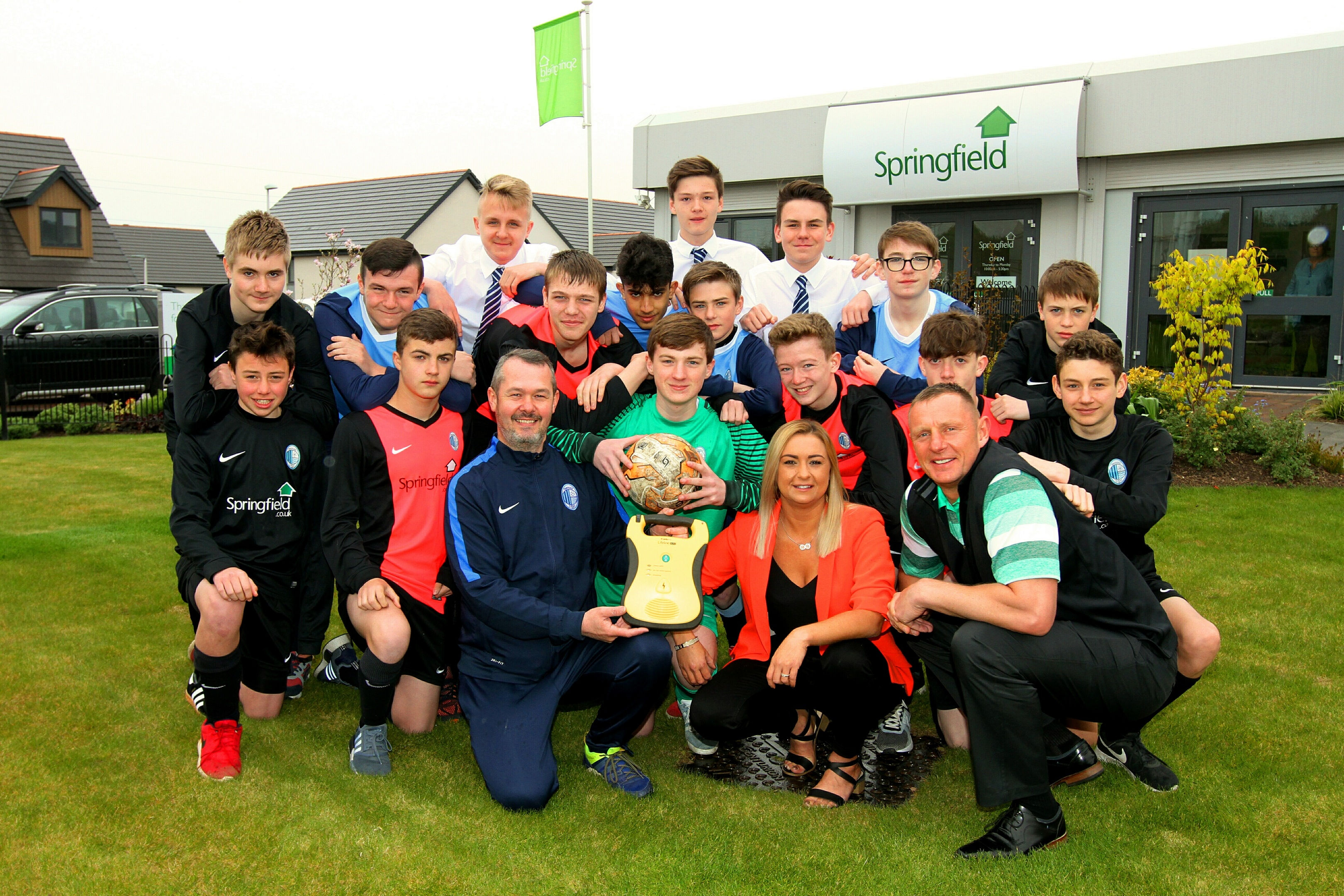 The team want to set an example to clubs across Scotland
