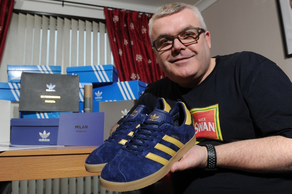 Alan with a pair of Milans.