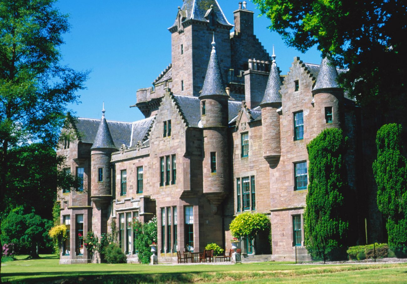 Guthrie Castle.