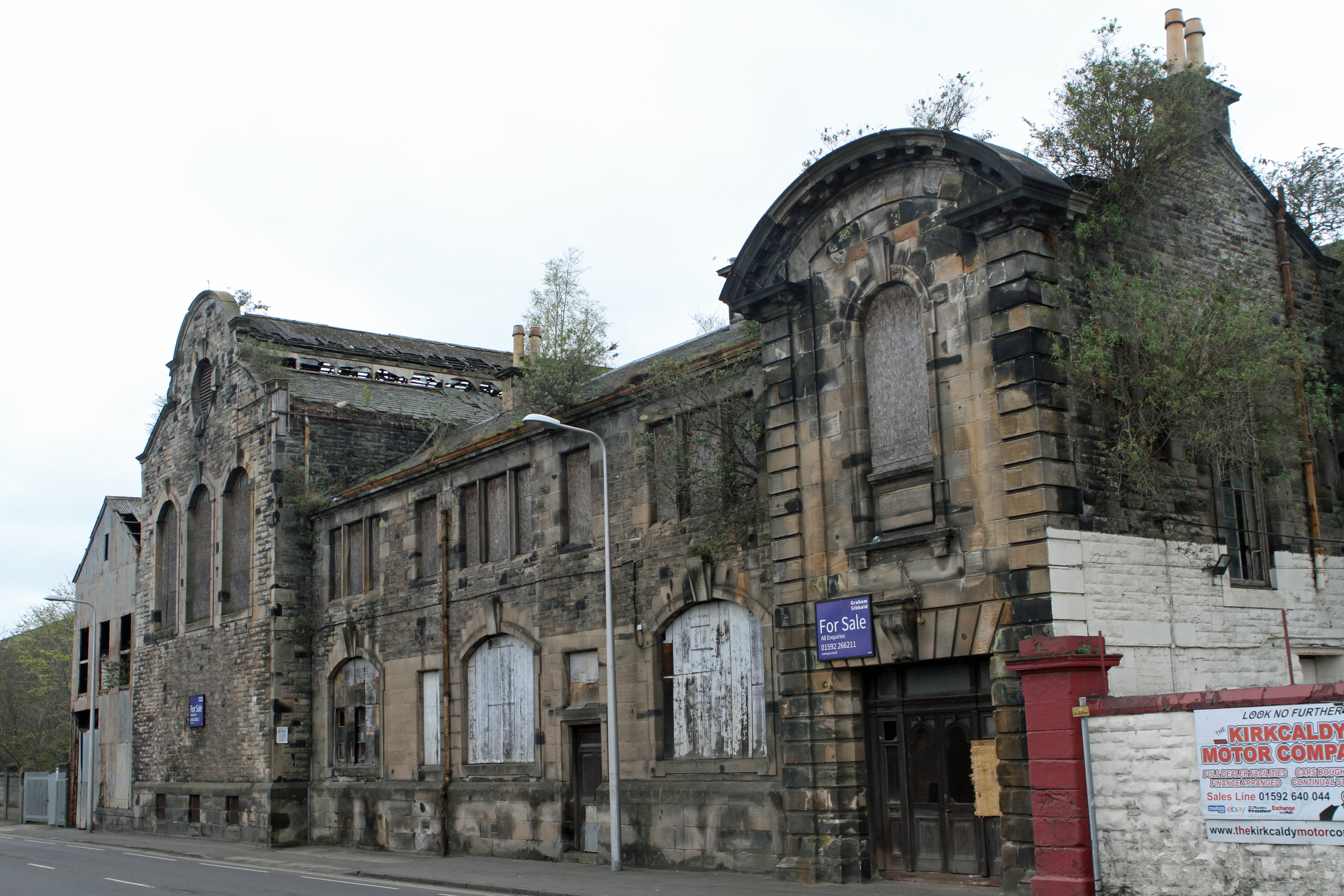 The exterior of the Victoria Power Station.