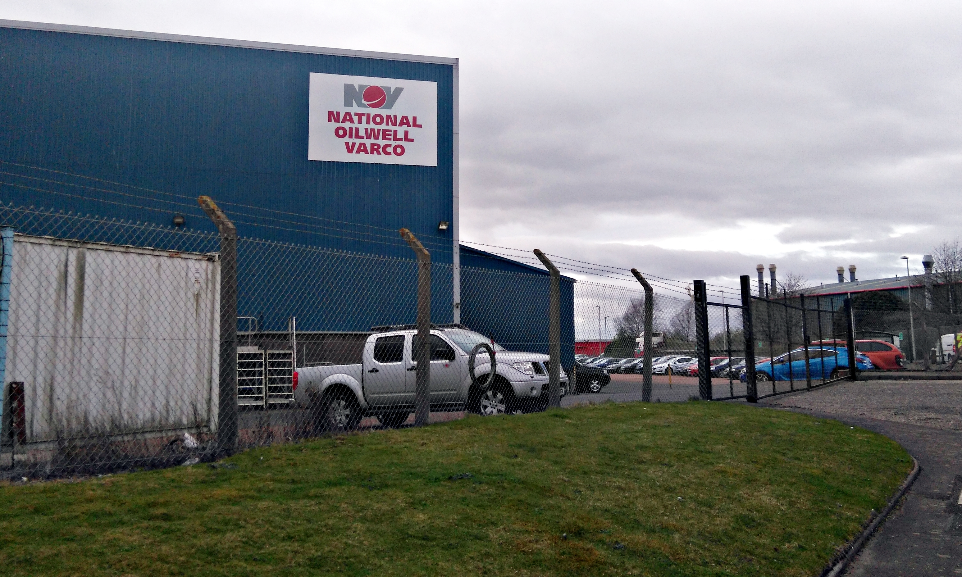 The National Oilwell Varco site in Montrose.