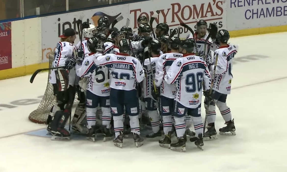Joy for Dundee Stars as they secure their place in the play-off finals weekend.