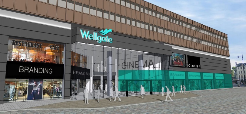 The image used on the new Wellgate brochure.