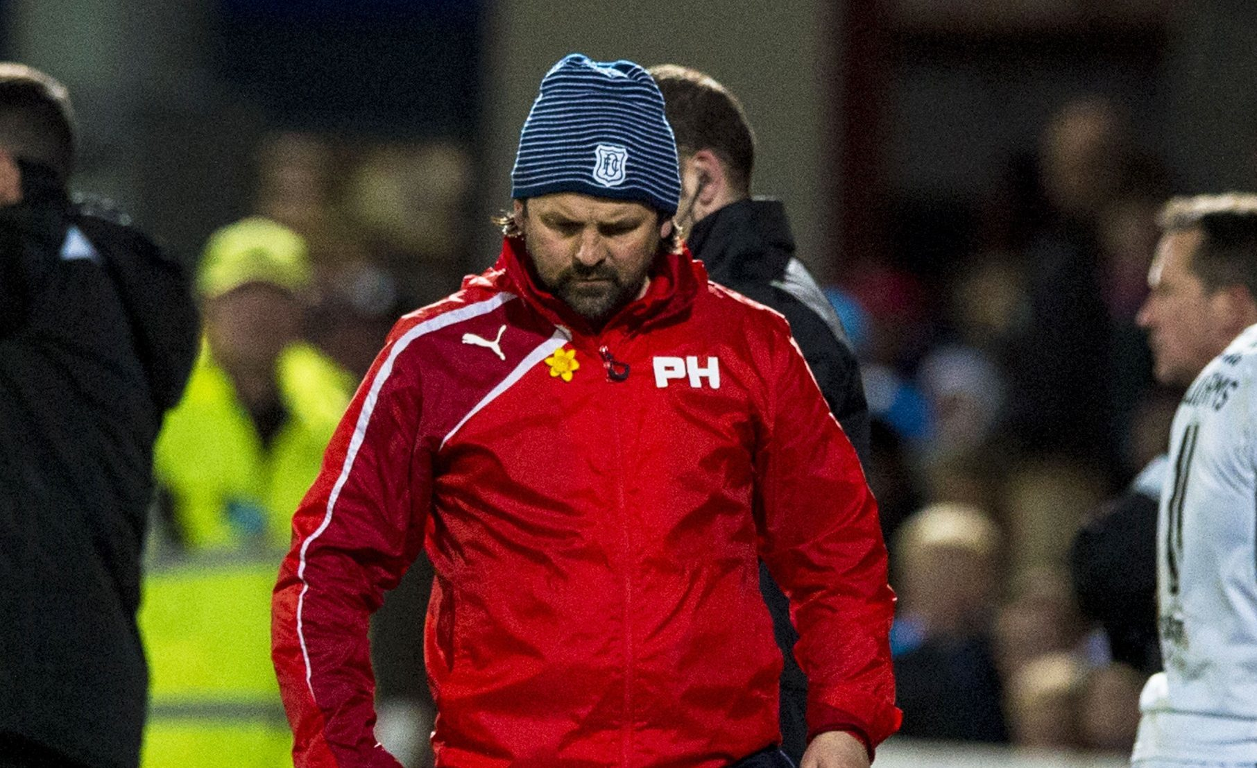 Paul Hartley after the loss to Ross County.