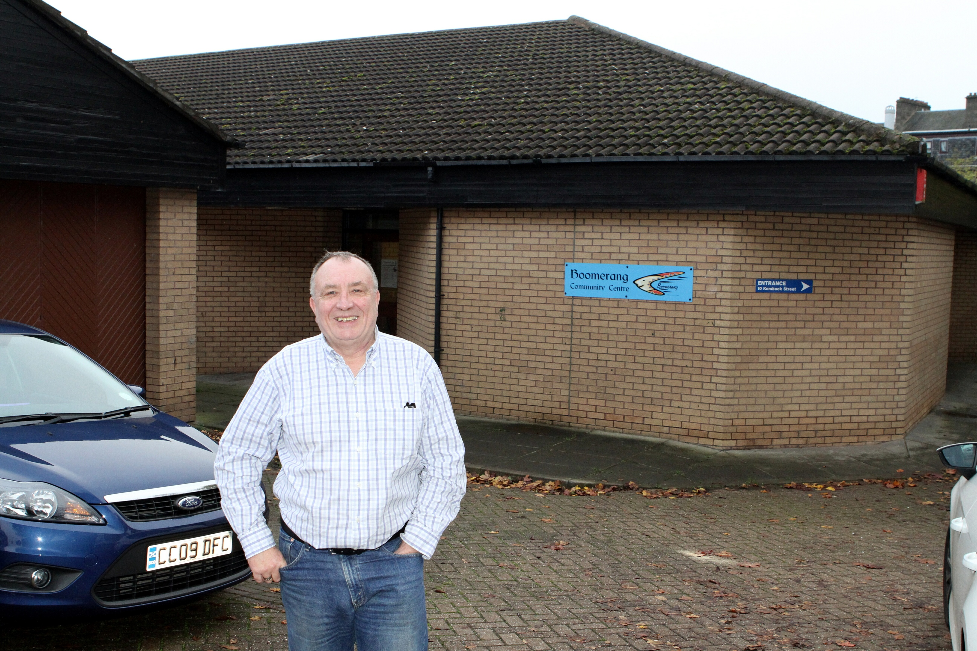 Neil Ellis believes areas need to resurrect the community spirit of years gone by.