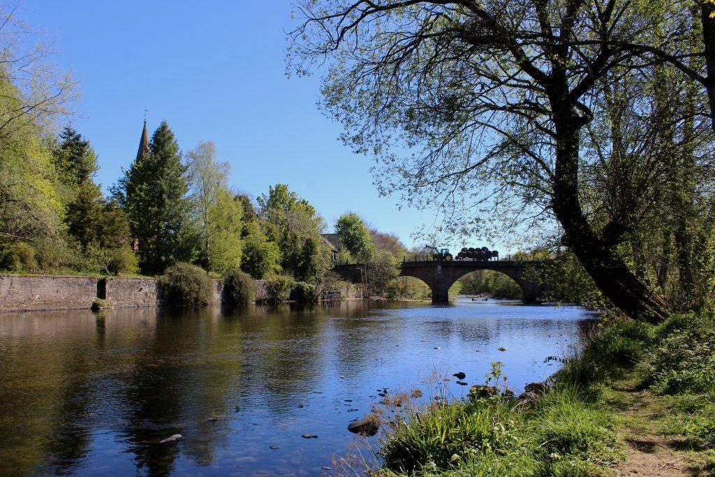 1 - Blairgowrie Bridge, spanning the River Ericht - James Carron, Take a Hike