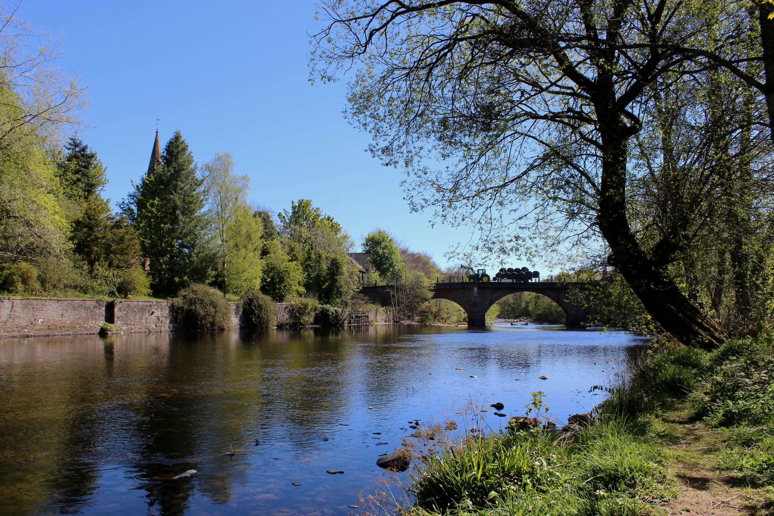 The River Ericht.