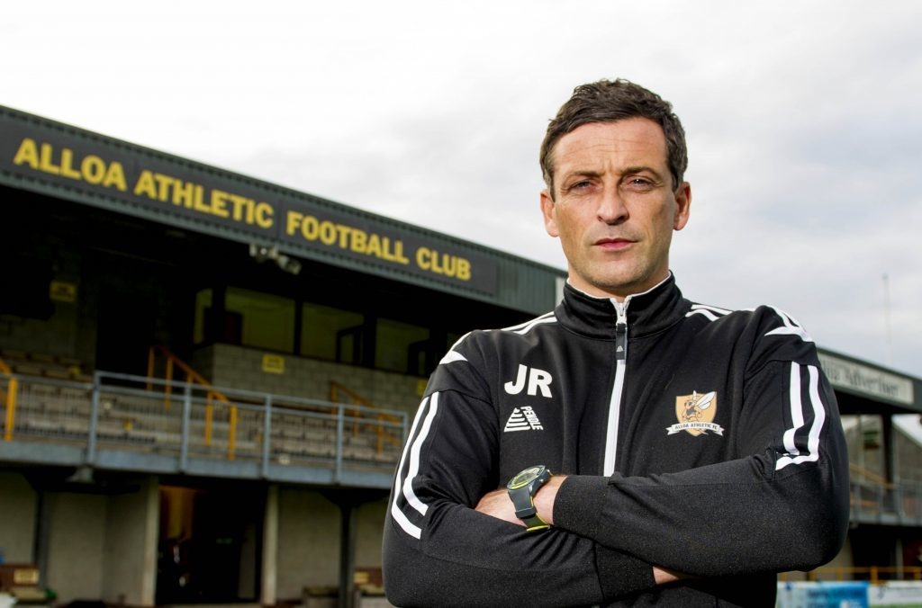 Like Paul Hartley, Ross made his name in management at Alloa.
