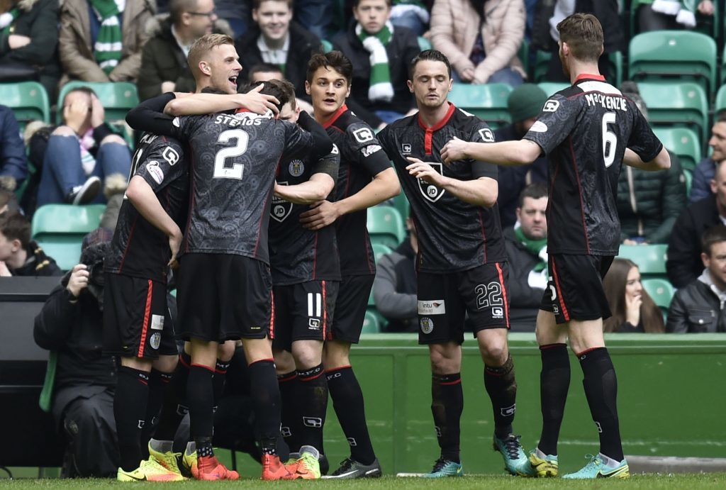 St Mirren impressed Brendan Rodgers at Celtic Park.