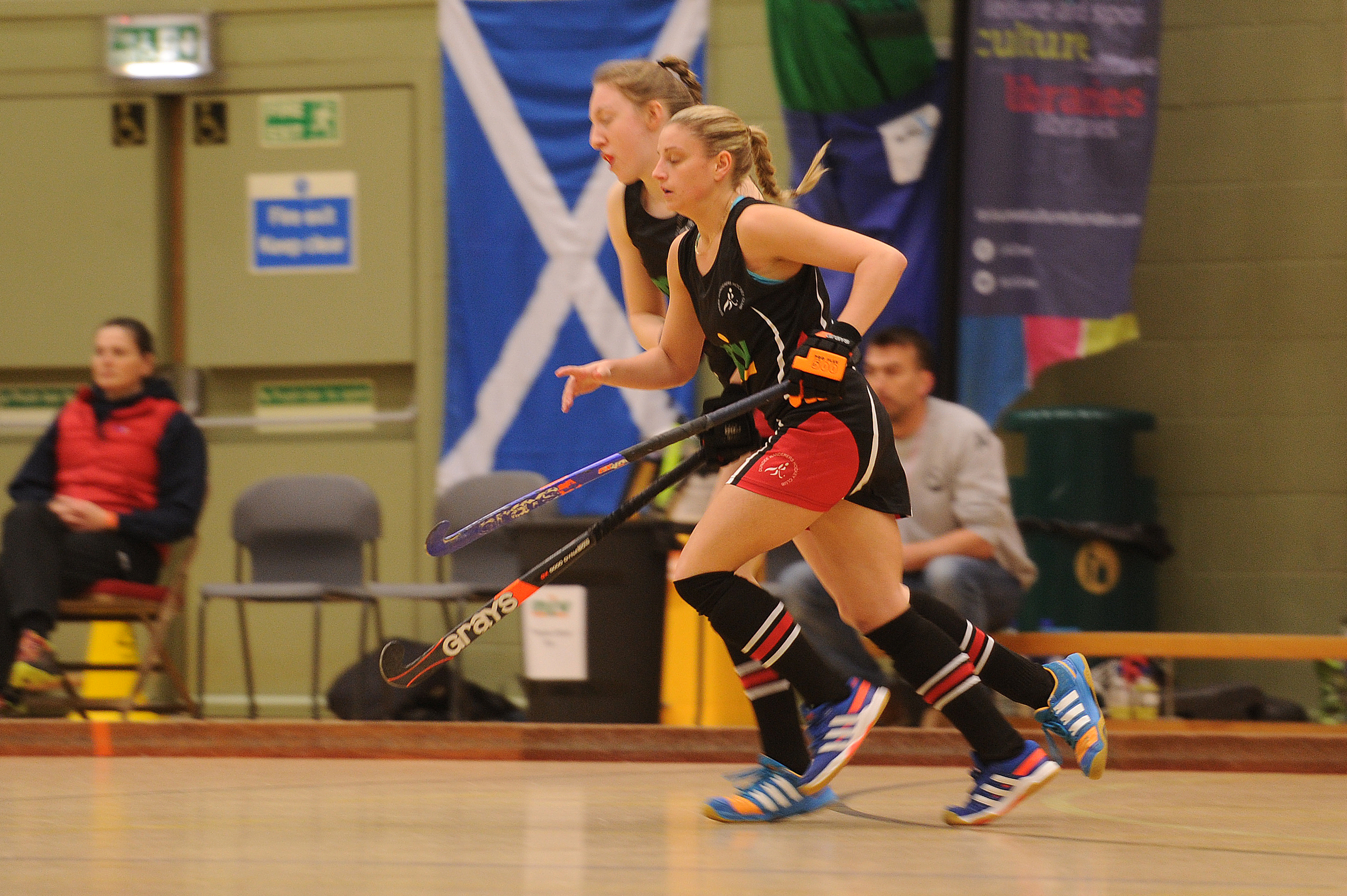 Dundee will host the best female indoor hockey players in Europe.