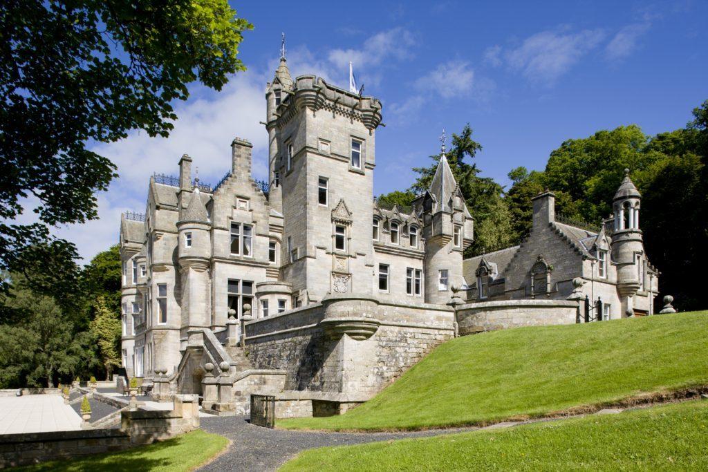 Kinnettles Castle is a fairytale venue.