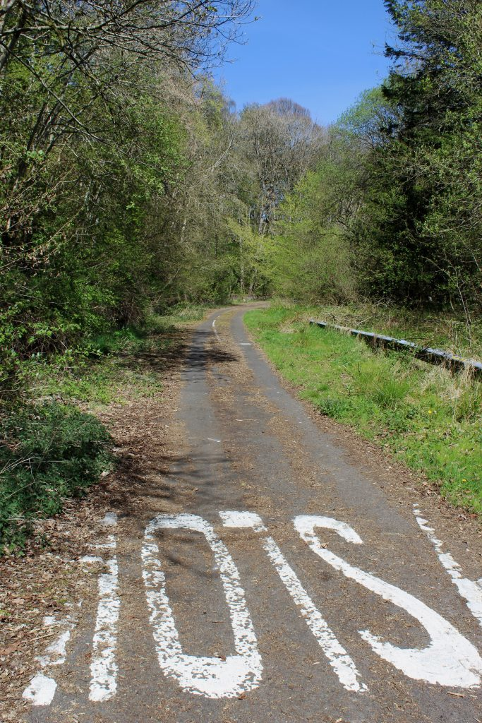 4 - The abandoned section of the A93 in Craighall Gorge - James Carron, Take a Hike