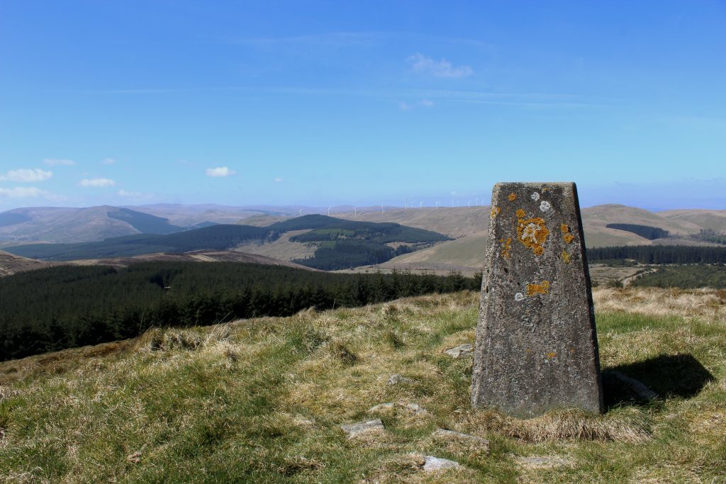 4 - View west over the Ochil Hills from the summit of Innerdouny Hill - James Carron, Take a Hike