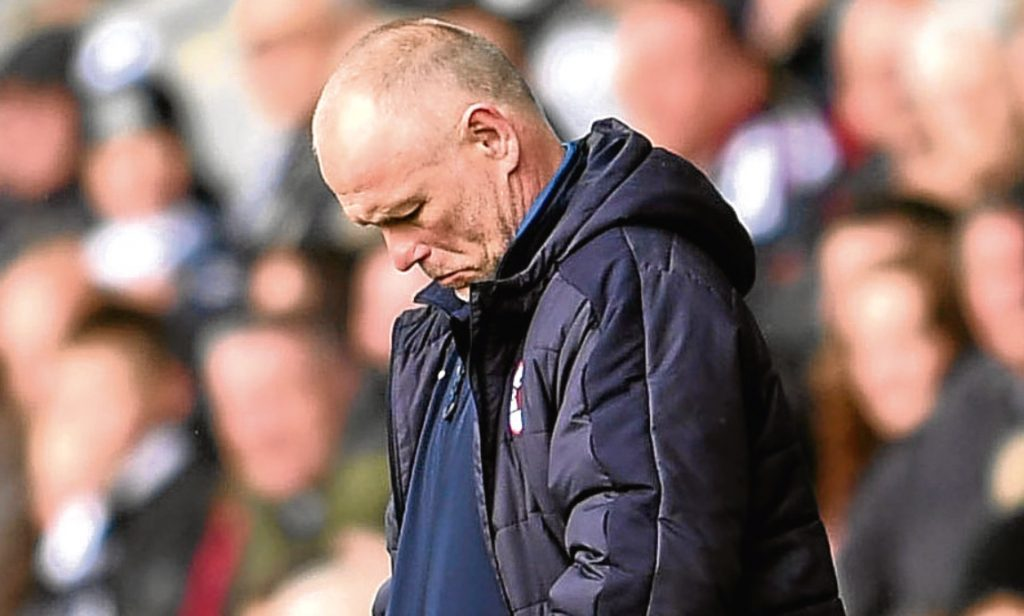 Raith Rovers manager John Hughes.