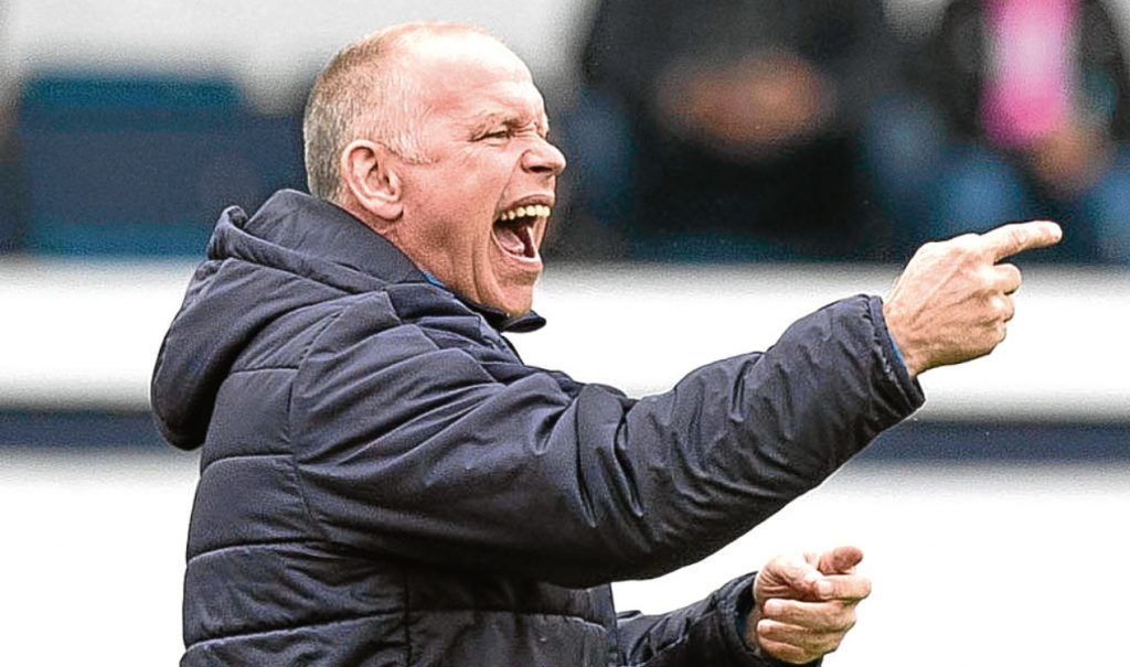 John Hughes is now in charge at Ross County.