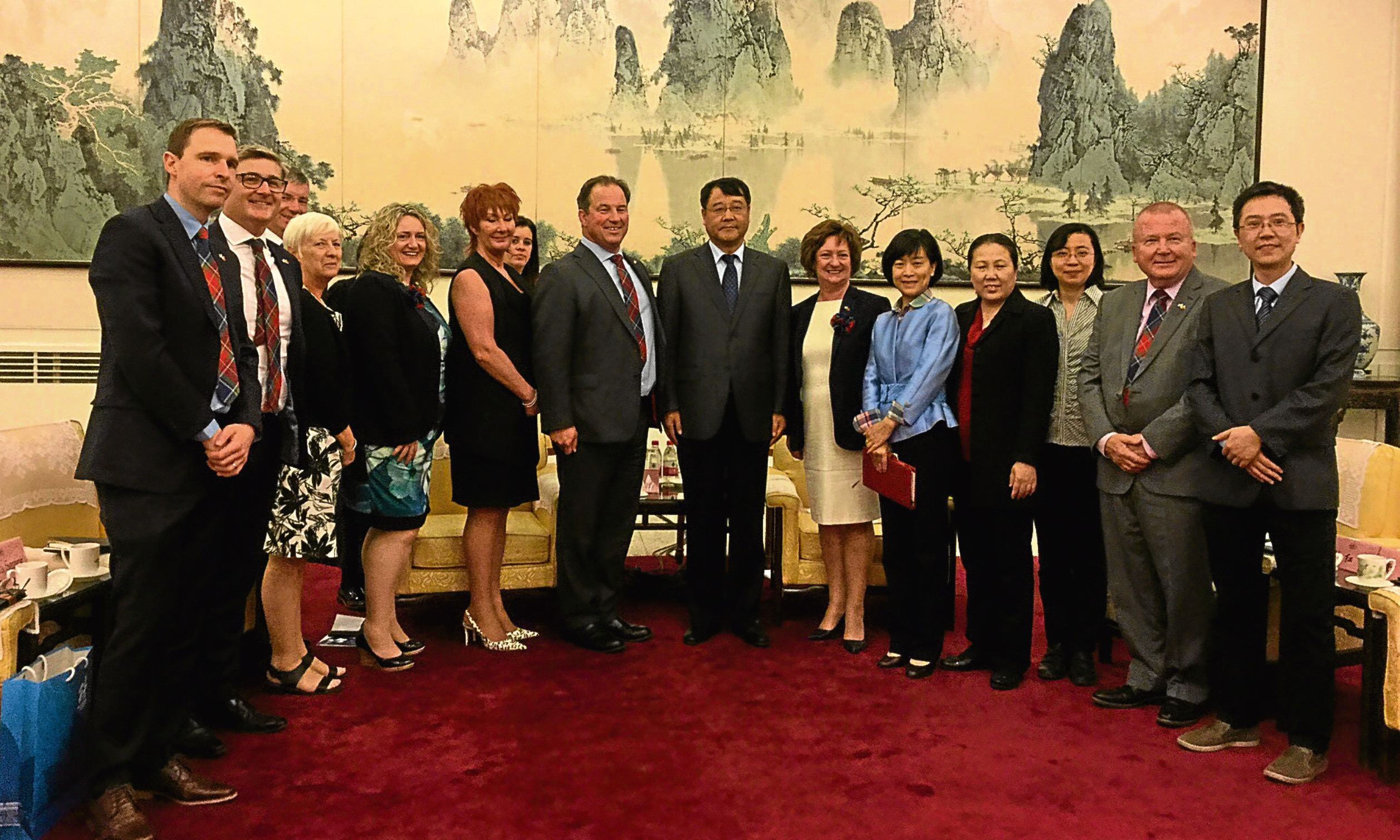 Members of Dundee and Angus Chamber of Commerce joined a high level trade mission to China