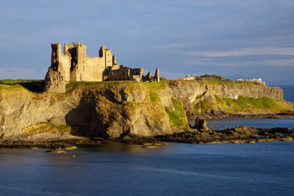 Tantallon Castle is a stone's throw from North Berwick.