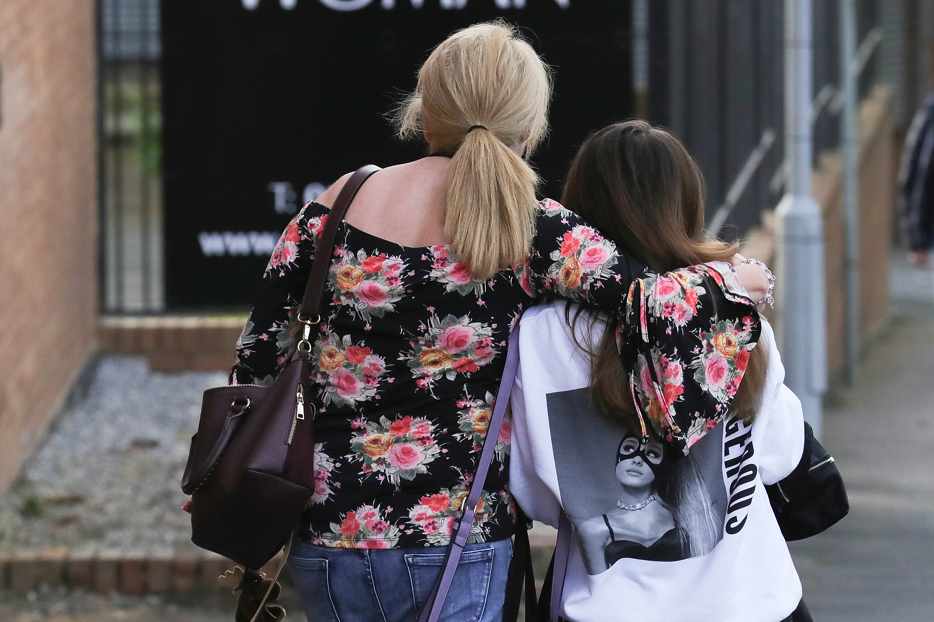 Ariana Grande concert attendees Karen Moore and her daughter Molly Steed, aged 14, from Derby,  were given refuge after last night's explosion at Manchester Arena.