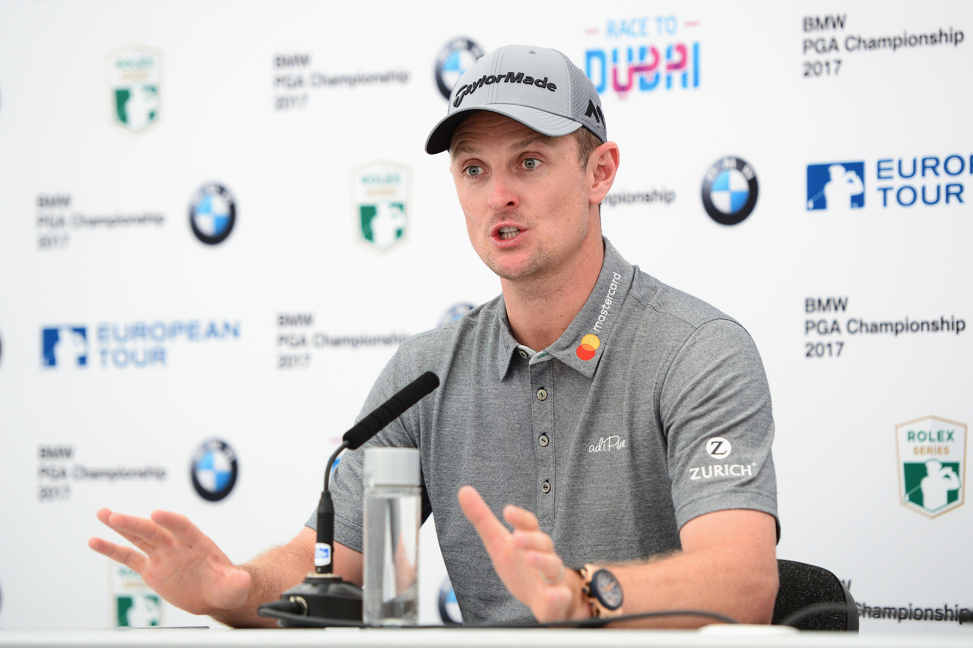 Justin Rose wants a BMW PGA Championship title on his honour roll.