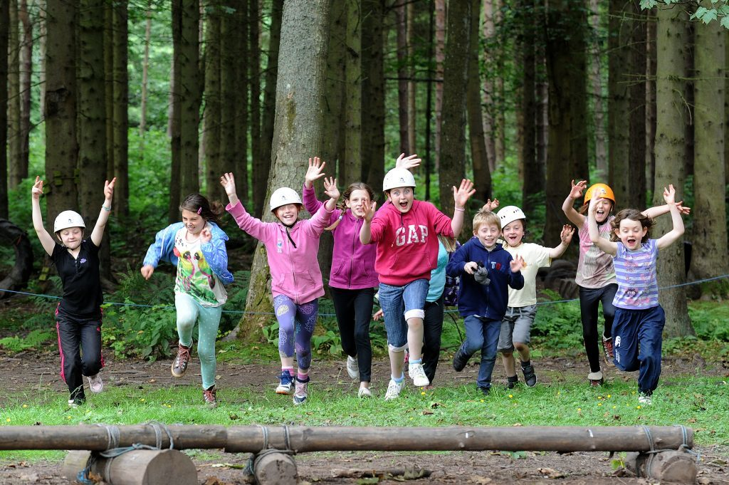 Summer Activity Club at the Belmont Centre, Meigle.