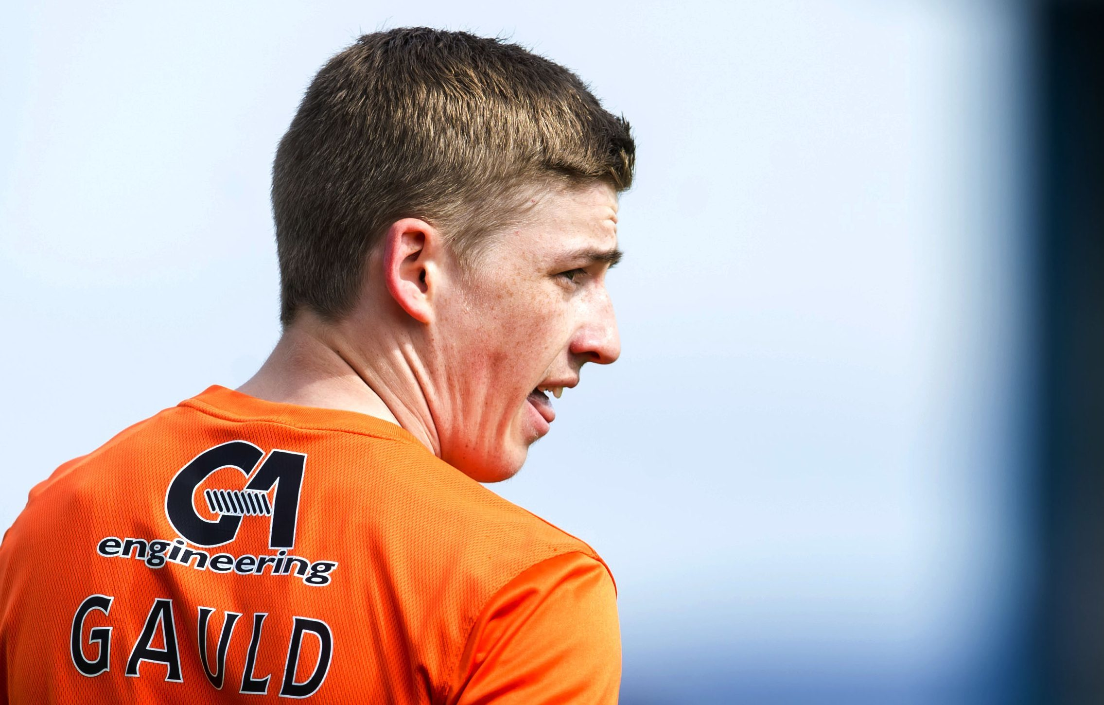 Ryan Gauld in his Dundee United days.