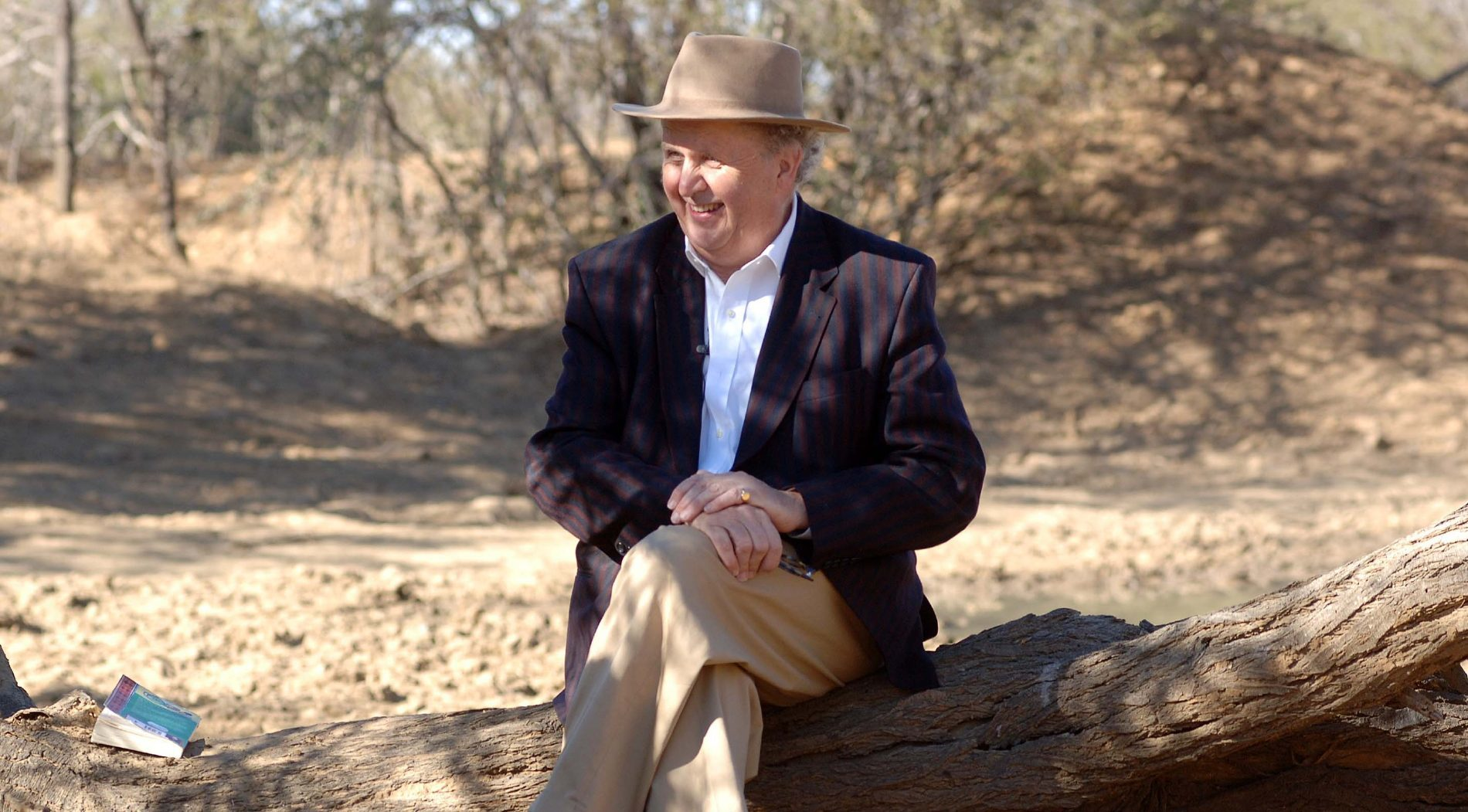 Alexander McCall Smith in Botswana.