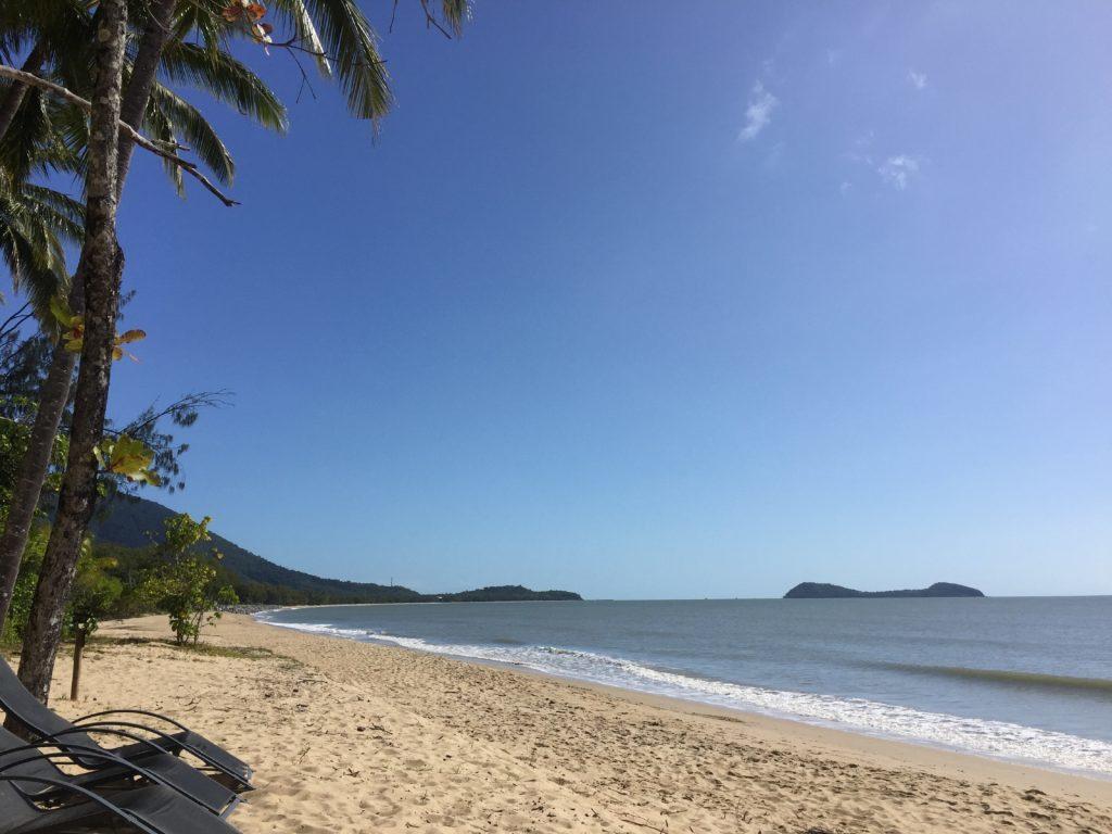 Beaches around Cairns.