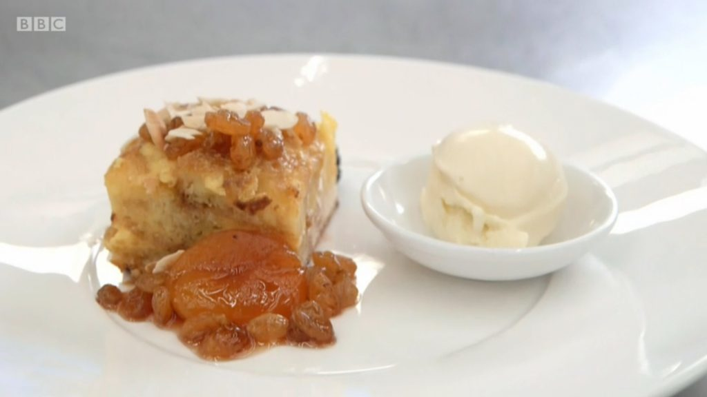 Brodie's take on bread and butter pudding