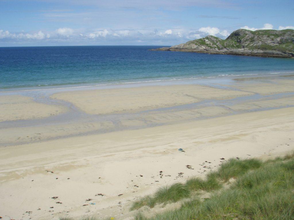 A beach on Coll.