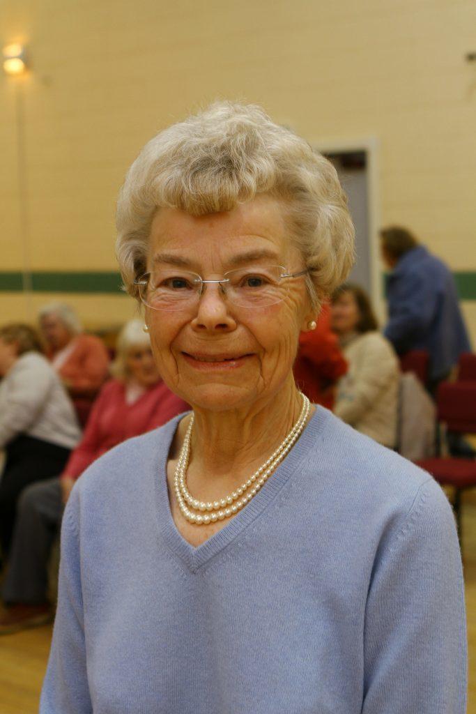 Ann Falconer, president of the Balmullo SWI.