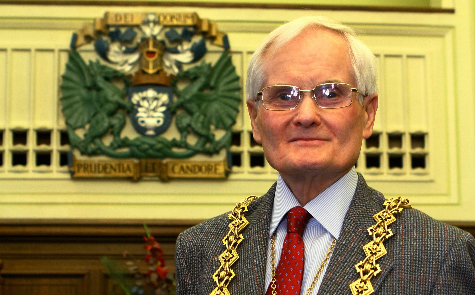 Lord Provost Ian Borthwick.