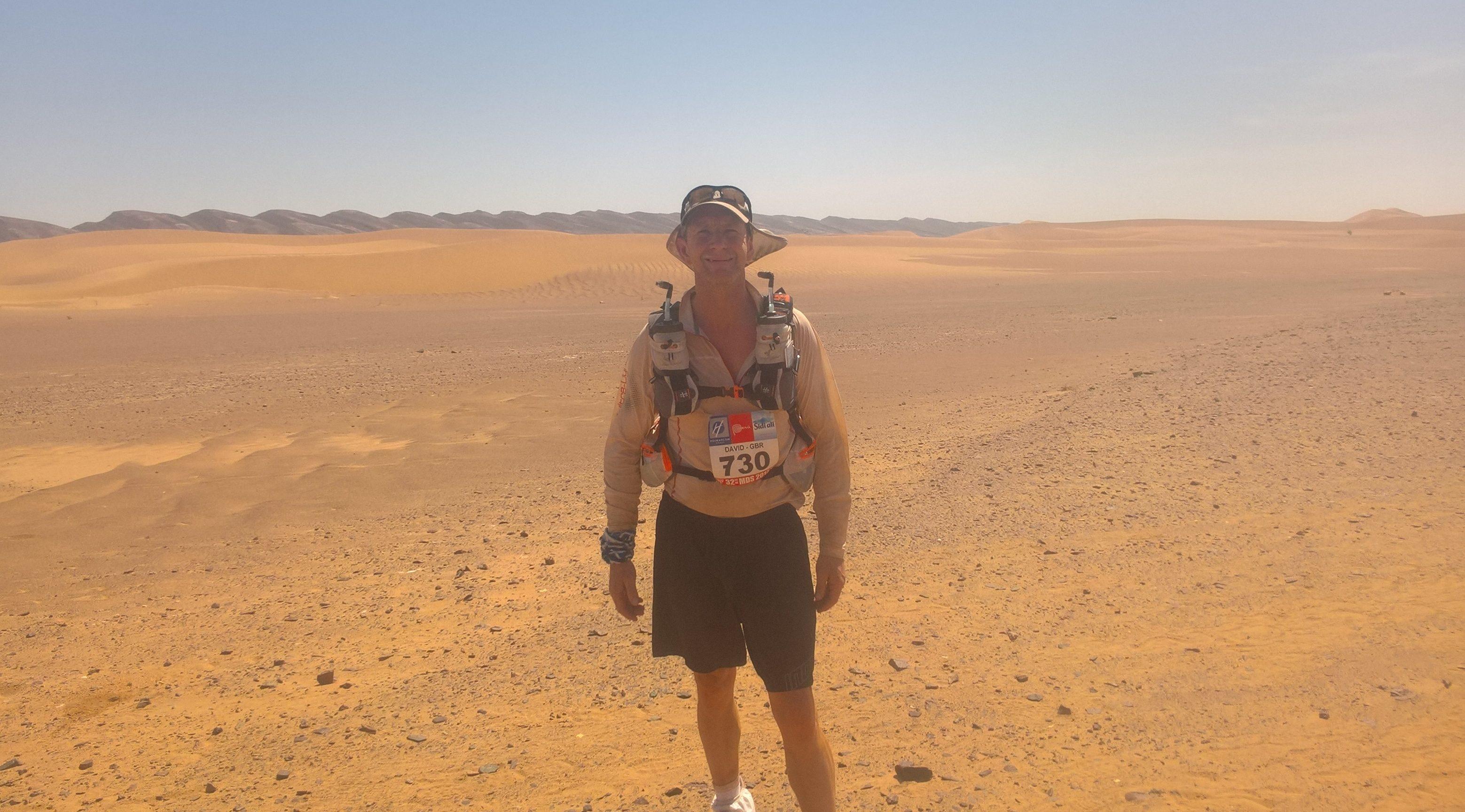 David in the Sahara