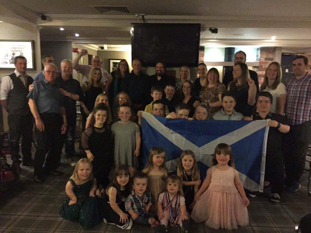 Scottish participants in National Dwarf Games