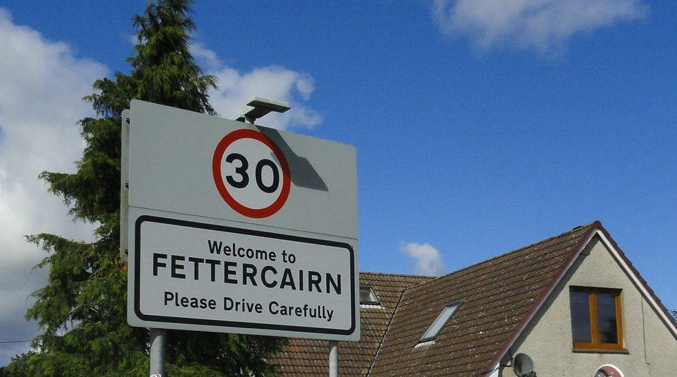 The village of Fettercairn.