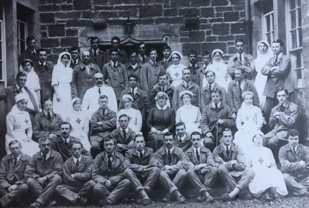 Staff and patients