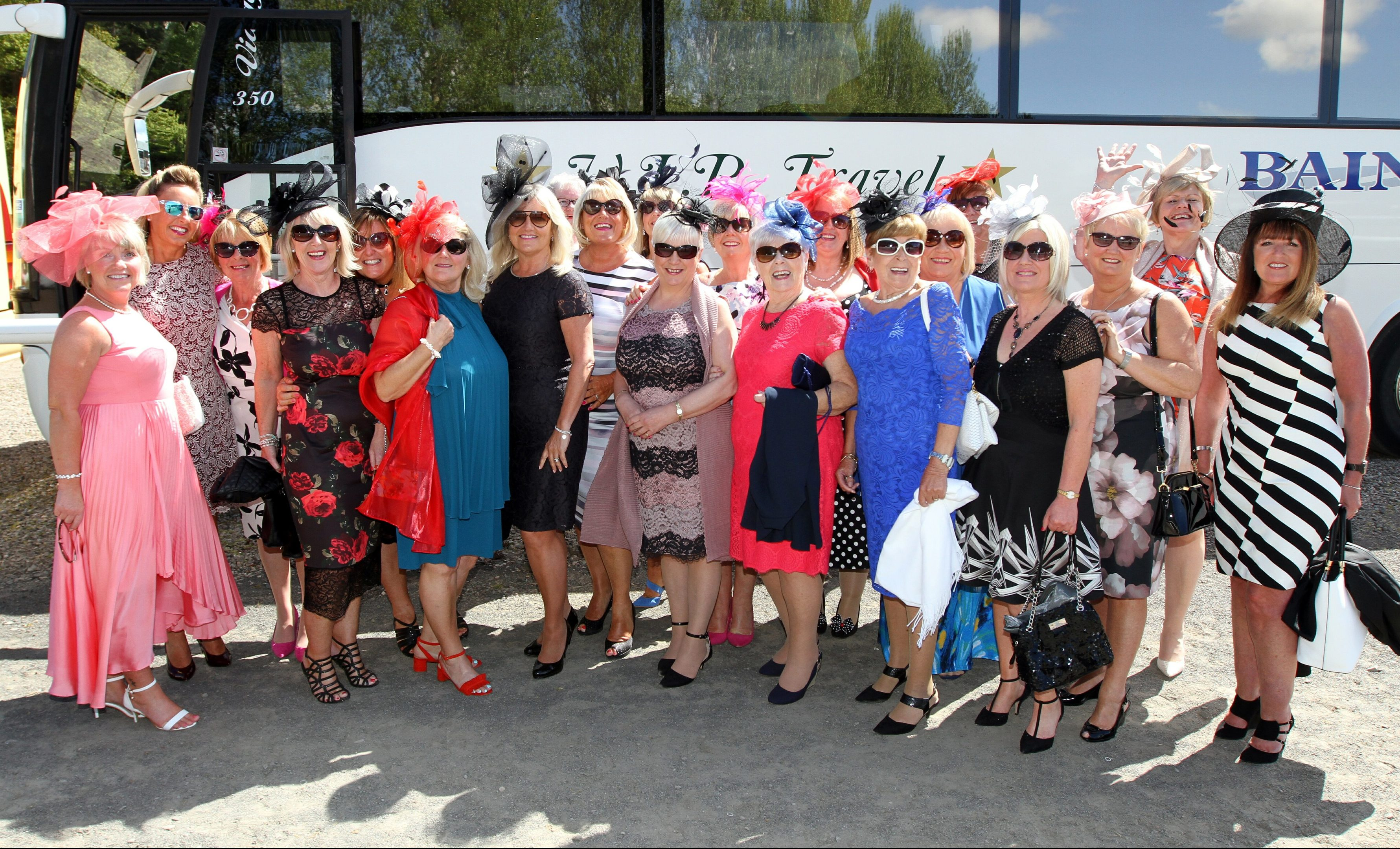 Ladies day at Perth racecourse.
