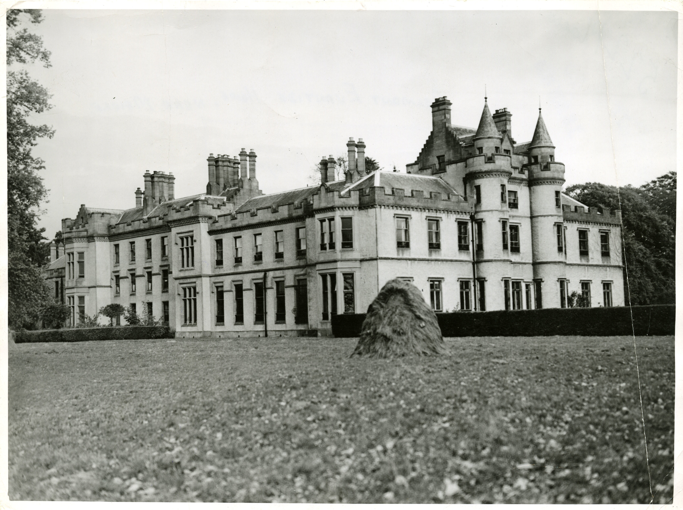 General view of Belmont Evantide Home near Meigle.
