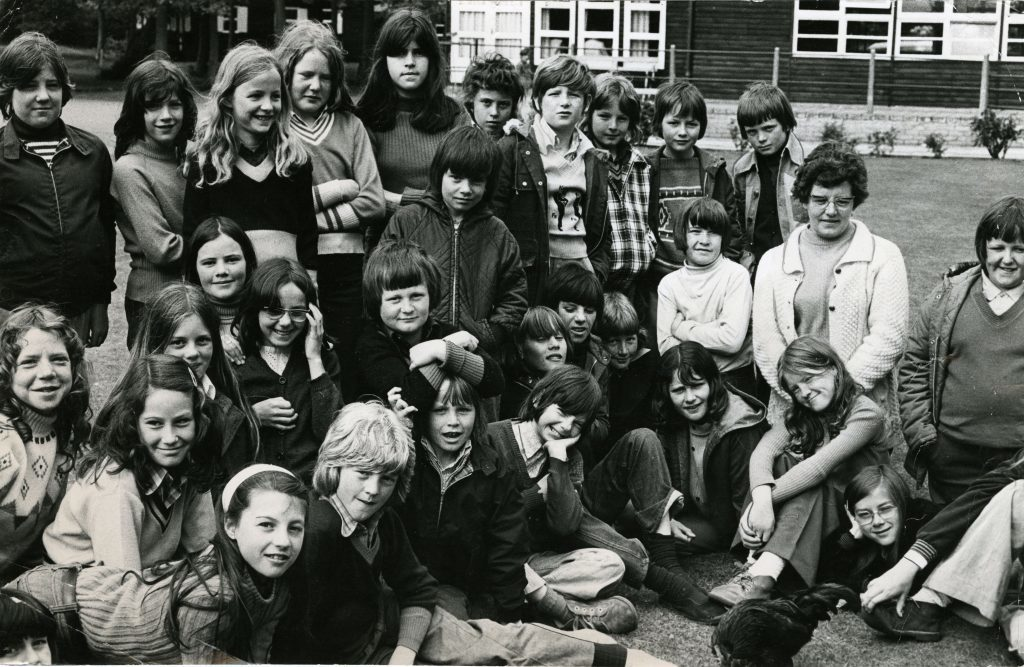 Pupils from Dundee schools at Belmont Camp, near meigle.