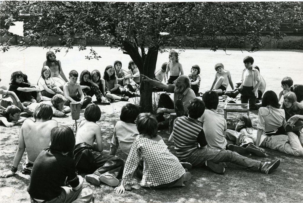Pupils at Belmont Camp.